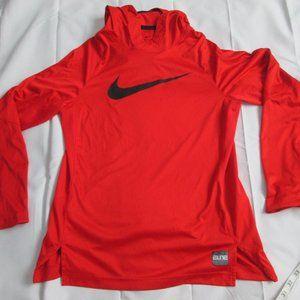 Nike Elite Dri Fit Big Swoosh Hoodie Pullover Boys